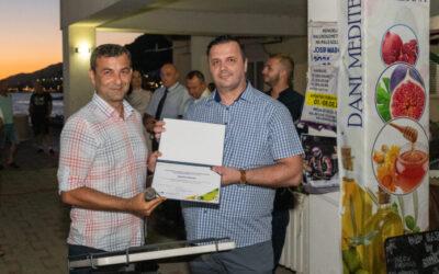 """""""Dani Mediterana 2021""""- Općina Neum dobila priznanje za sudjelovanje u projektu Mediteranska prehrana – Kada brend upoznaje ljude."""
